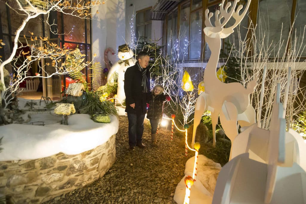The festival will put you in the Christmas spirit with its festive atmosphere