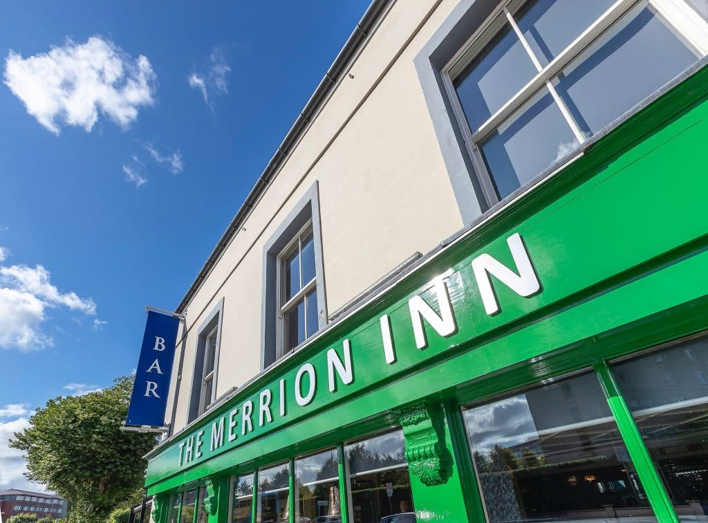 The Merrion Inn is the second stop on our DART ale trail