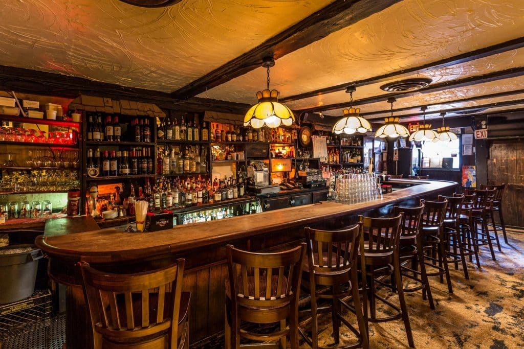 Molly's is one of the most authentic Irish pubs in New York.