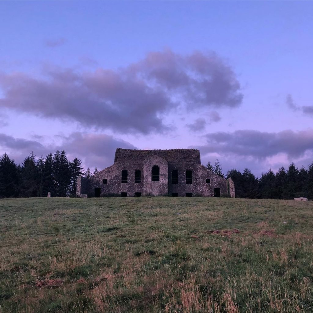 Previously home to the Hellfire Club, Montpelier Hill is one of the most haunted places in Ireland.