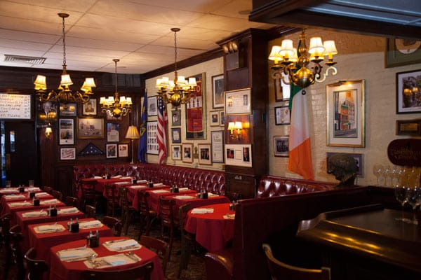 Neary's is a cosy Irish pub in New York.