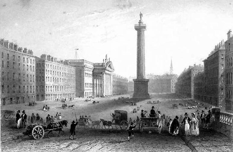 The Nelson Pillar in the 1840s