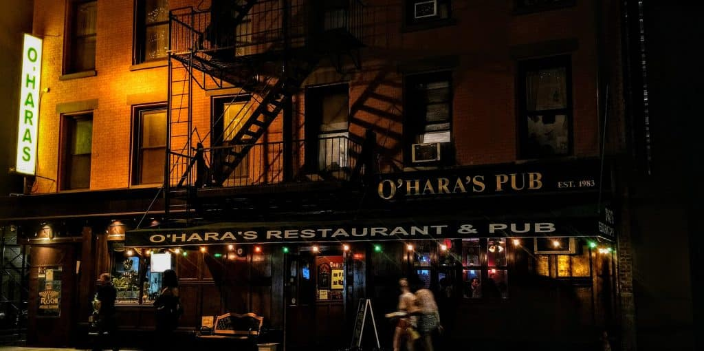 O'Hara's pub is one of the best Irish pubs in New York City.