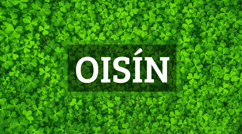Oisín is one of the top 10 Irish boy names that nobody can pronounce