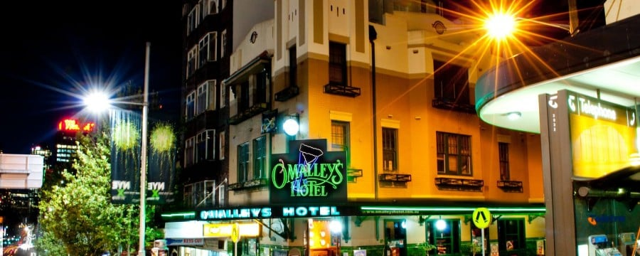 O'Malley's Hotel is one of the top 10 Irish pubs in Sydney