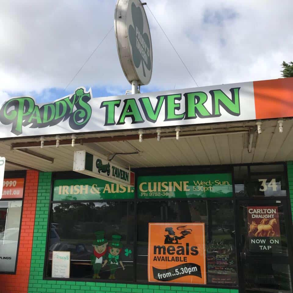 Irish expats will love Paddy's Tavern