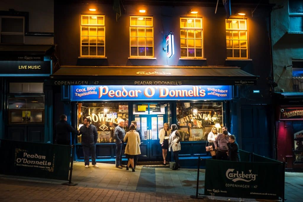 The night-life of the city is great. It offers so much choice, another one of our top five things to see and do in Derry.