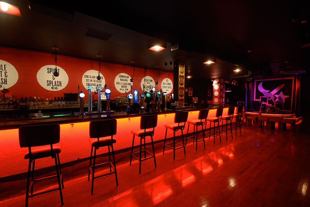 Pantibar is one of the best LGBT+ bars and clubs in Ireland, situated in the centre of Dublin.