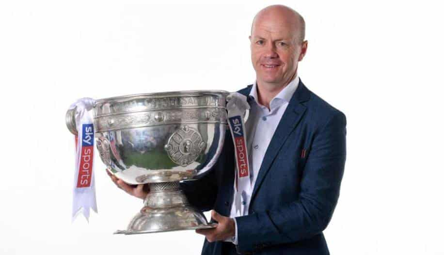 Peter Canavan is a footballer from Tyrone