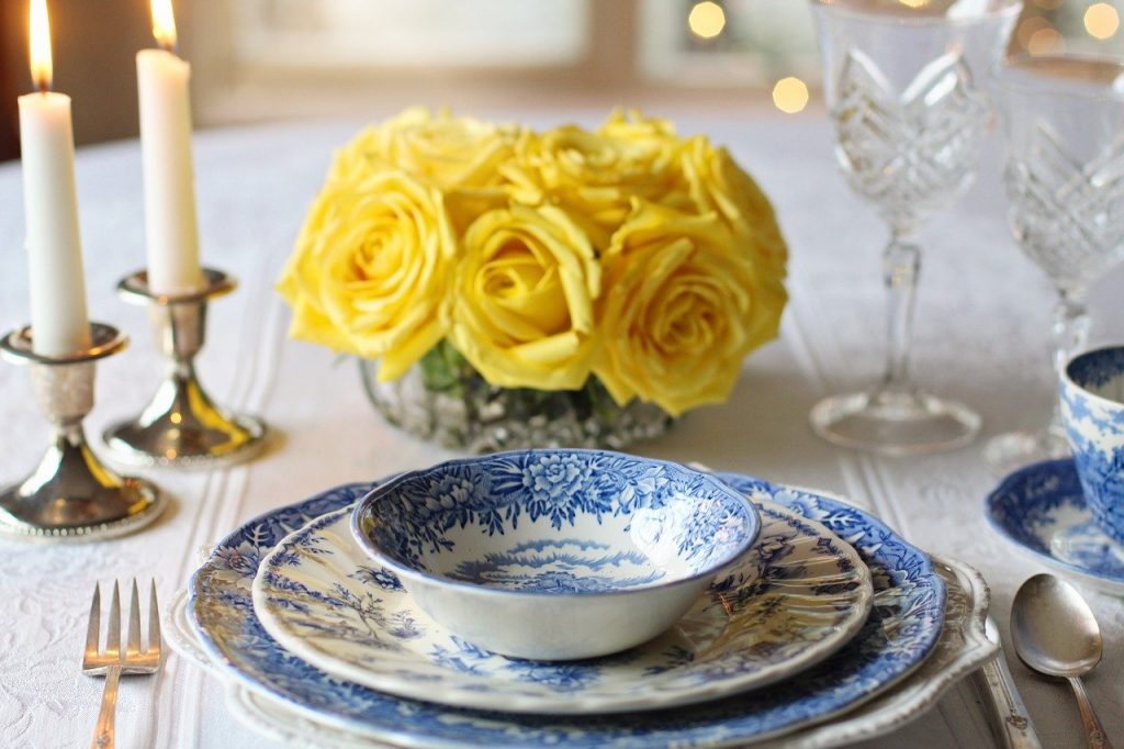 10 items you'll find in almost every Irish home include fancy blue china plates