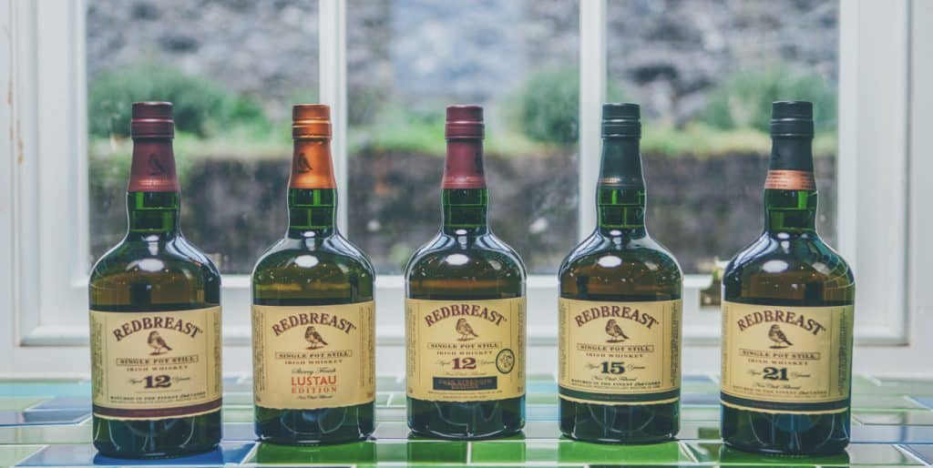 Redbreast is the world's best-selling Single Pot Still Irish Whiskey
