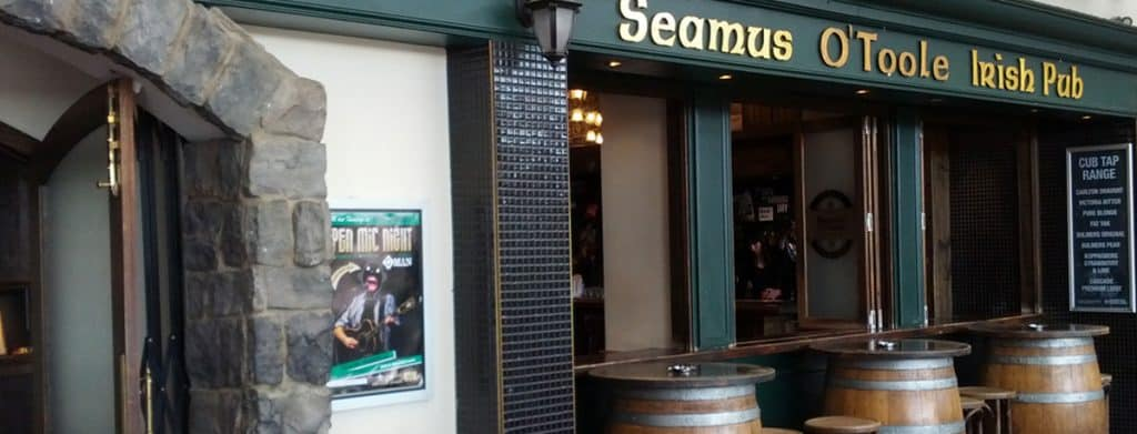Seamus O'Toole is one of the top 10 Irish pubs in Melbourne