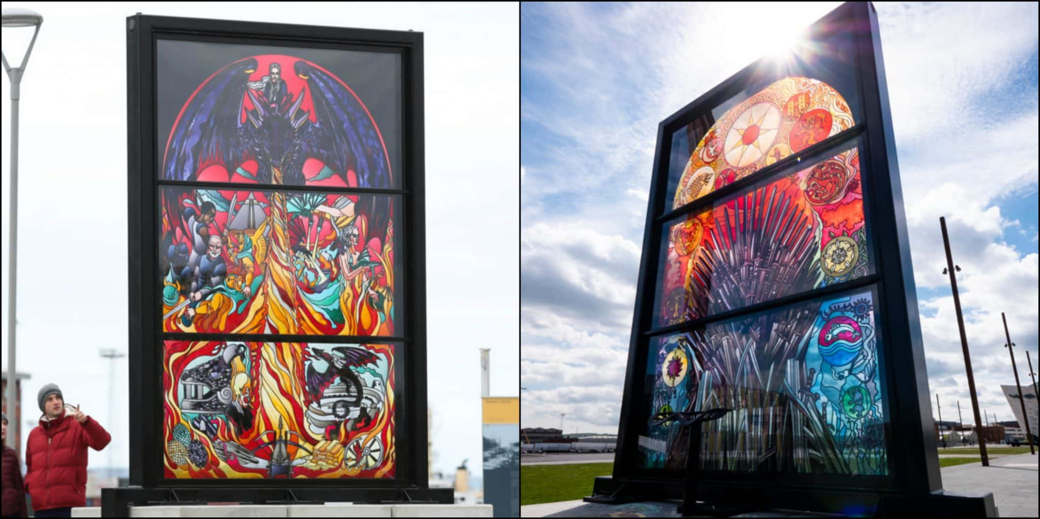 STUNNING stained glass trail in Belfast honours Game of Thrones - Ireland Before You Die