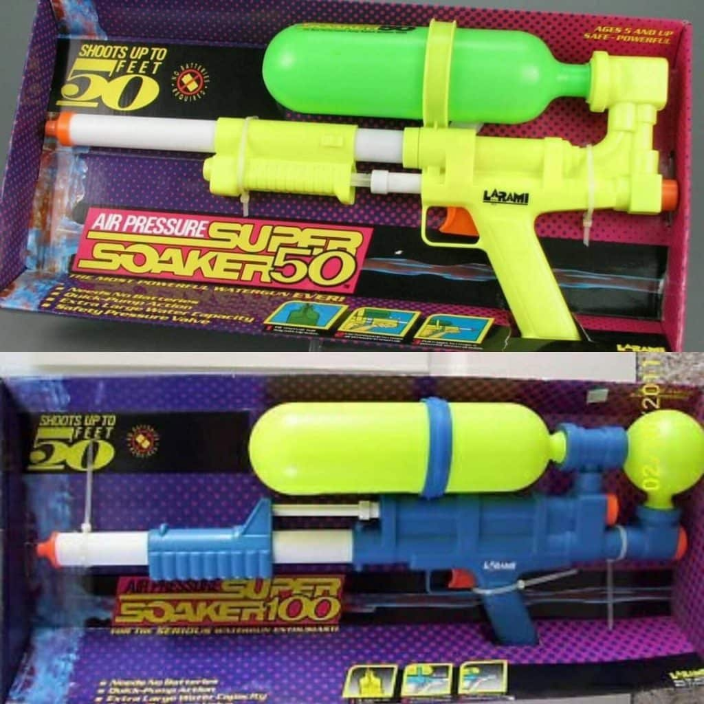 Super Soakers are one of the top 10 toys Irish kids had in the 90s that are worth a fortune now