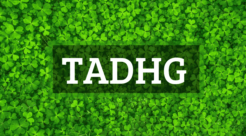 The name Tadhg is pronounced 'Tige' like Tiger without the R.