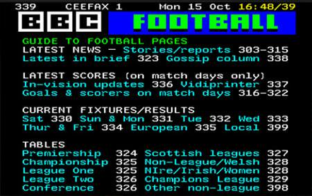 The Teletext was like the internet before the internet in Ireland