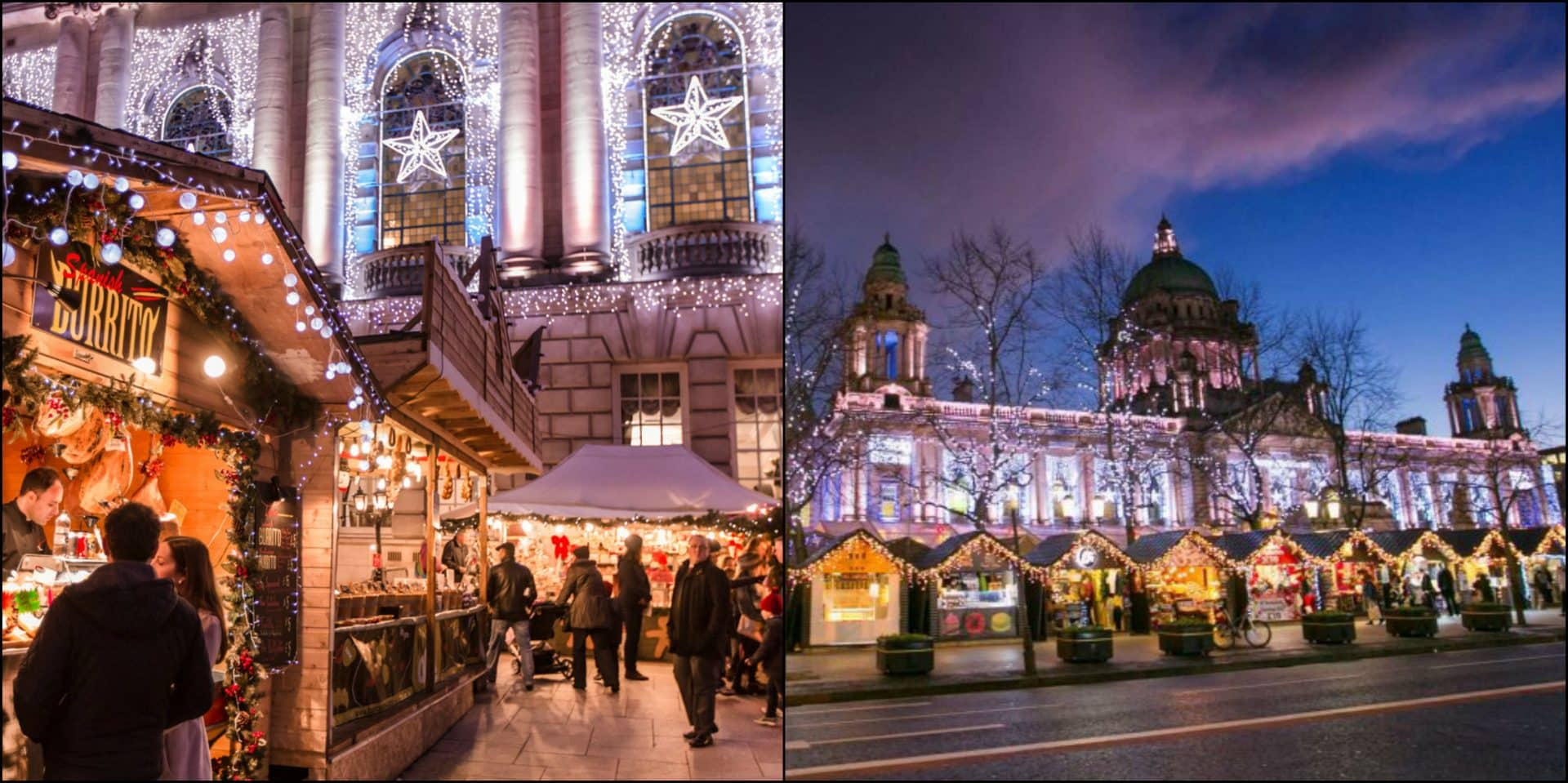The Belfast Christmas Market opens this