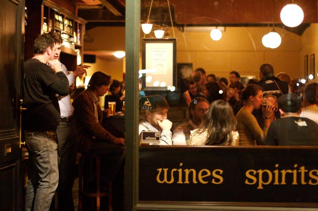 The Drunken Poet may be the best Irish watering hole in Melbourne