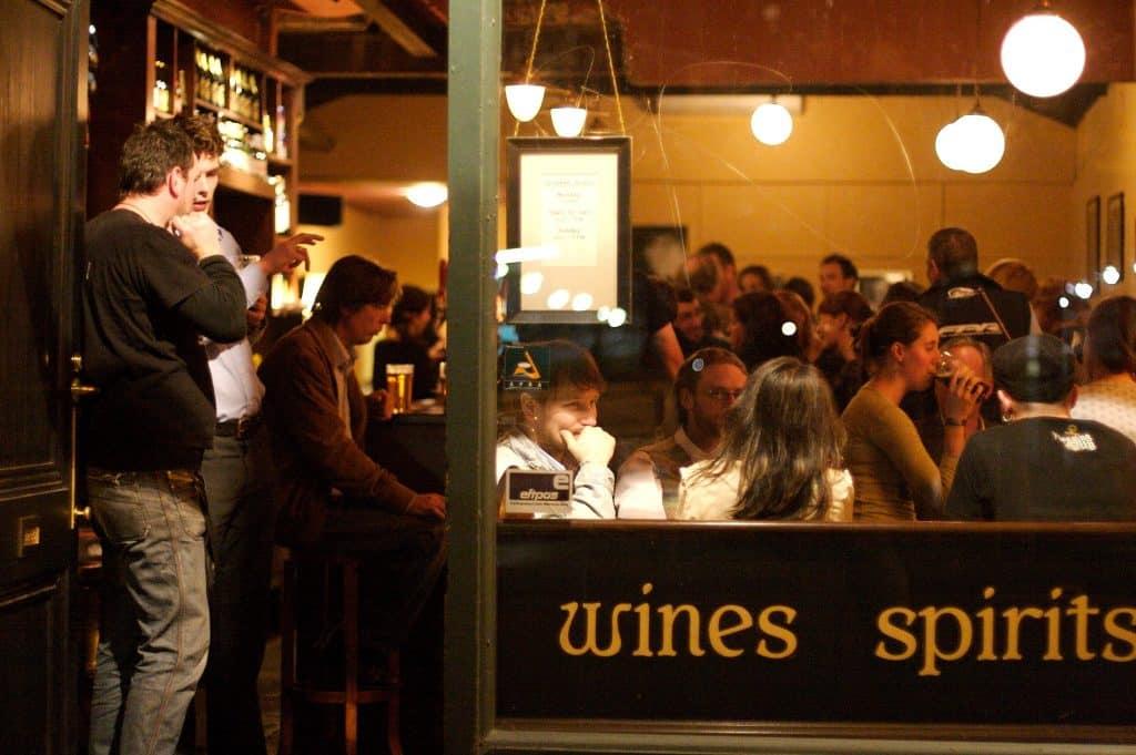 The Drunken Poet is located in Melbourne