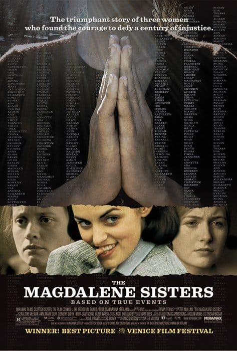 One of the top films about Irish history is The Magdalene Sisters, a dark look at religious order abuse.