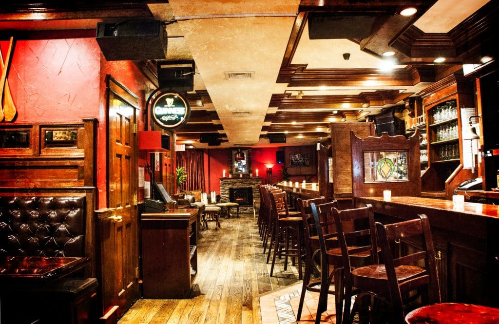 You're sure to get comfortable in The Playwright, one of New York's best Irish pubs.