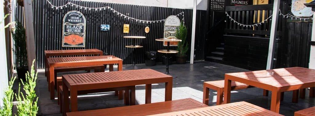 The Quiet Man Pub is located in Melbourne