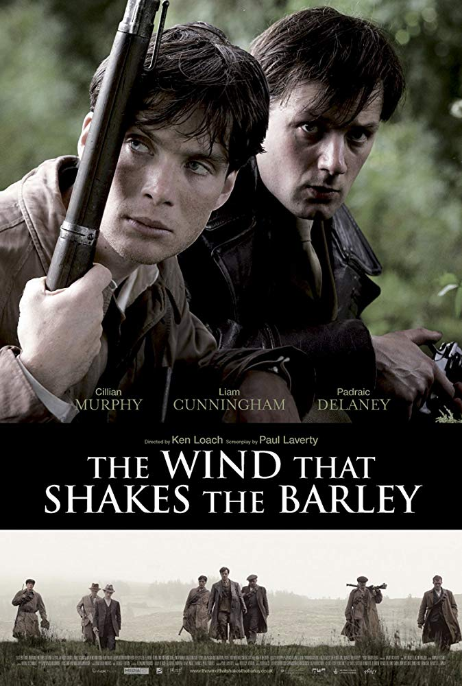 The Wind that Shakes the Barley is one of the greatest films about Irish history. A must-watch!