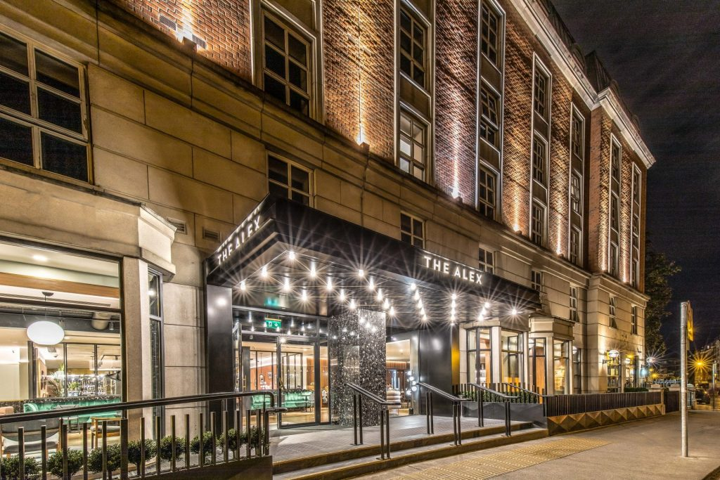 The Alex is one of the 10 best hotels in Dublin city centre