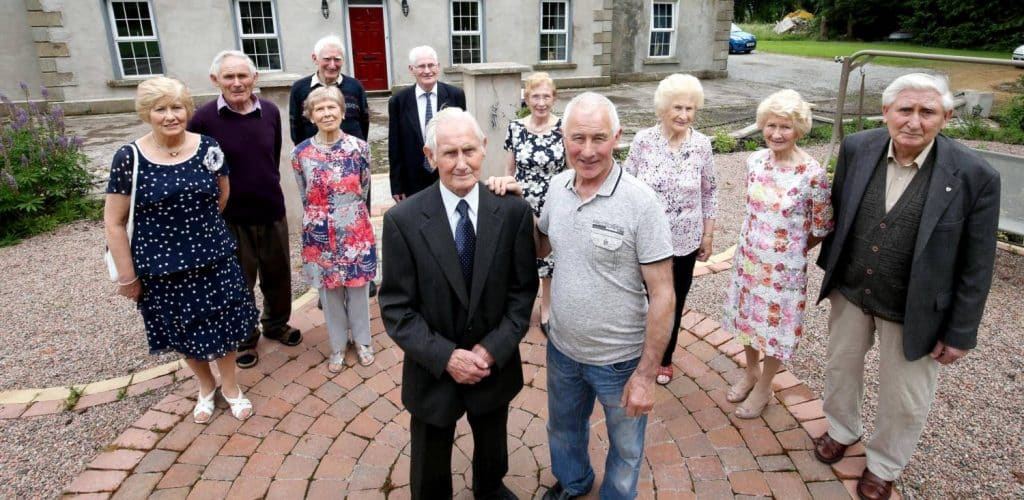 Guinness World Records held by the Irish include the world's highest combined age of living siblings