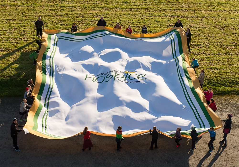 Guinness World Records held by the Irish include the world's largest tea towel
