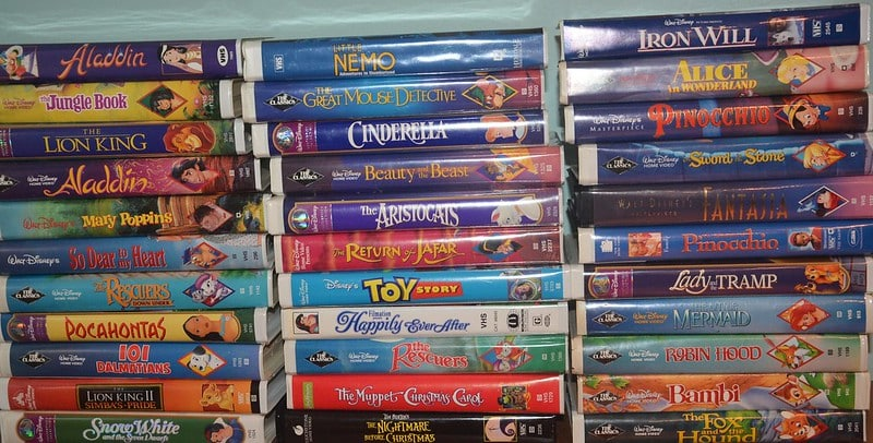 90s VHS tapes will sell for a lot of money now