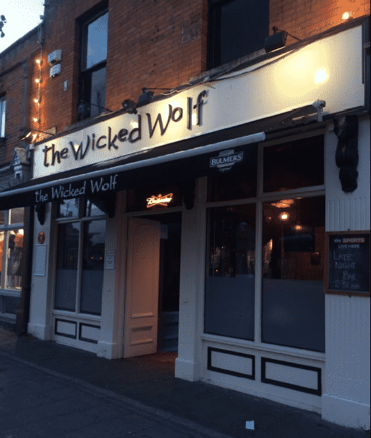 The Wicked Wolf is the third stop on our DART ale trail