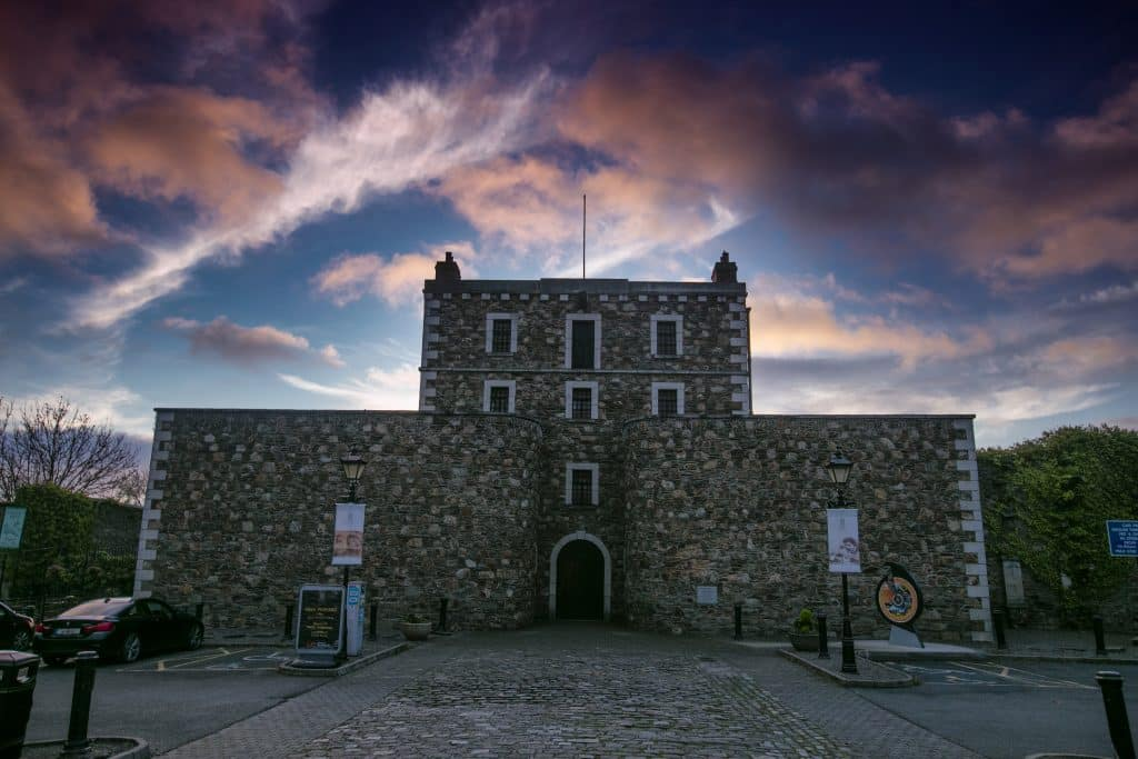 Wicklow Gaol housed notorious criminals and is rumoured to be haunted because of it.