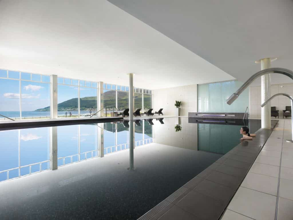 Another of the most luxurious spas in Ireland to try out is the Slieve Donard Resort and Spa, prepare for relaxation.