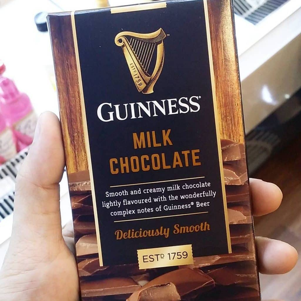 You need to try Guinness milk chocolate bars, one of the 5 best Guinness-flavoured treats.