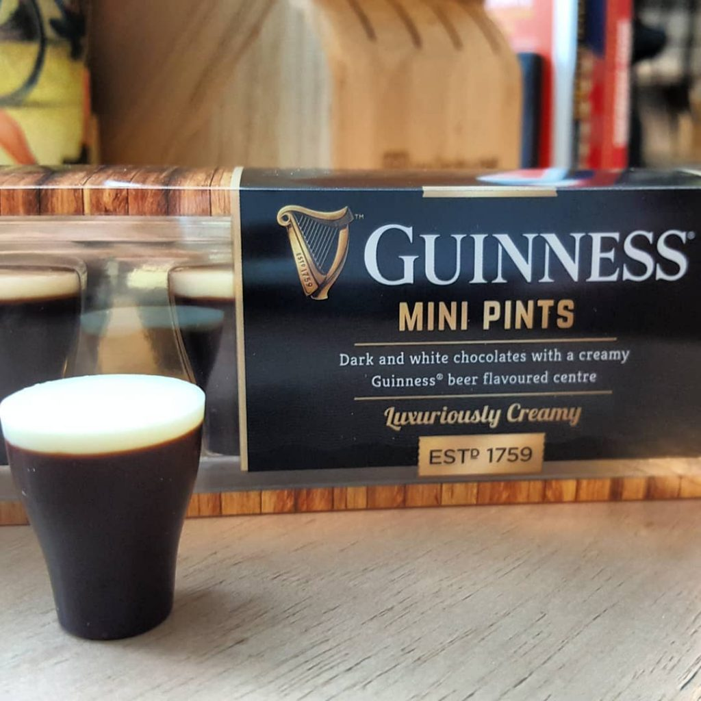 These cute Guinness mini pints are both delicious and an awesome gift, one of the best Guinness-flavoured treats you need to try.
