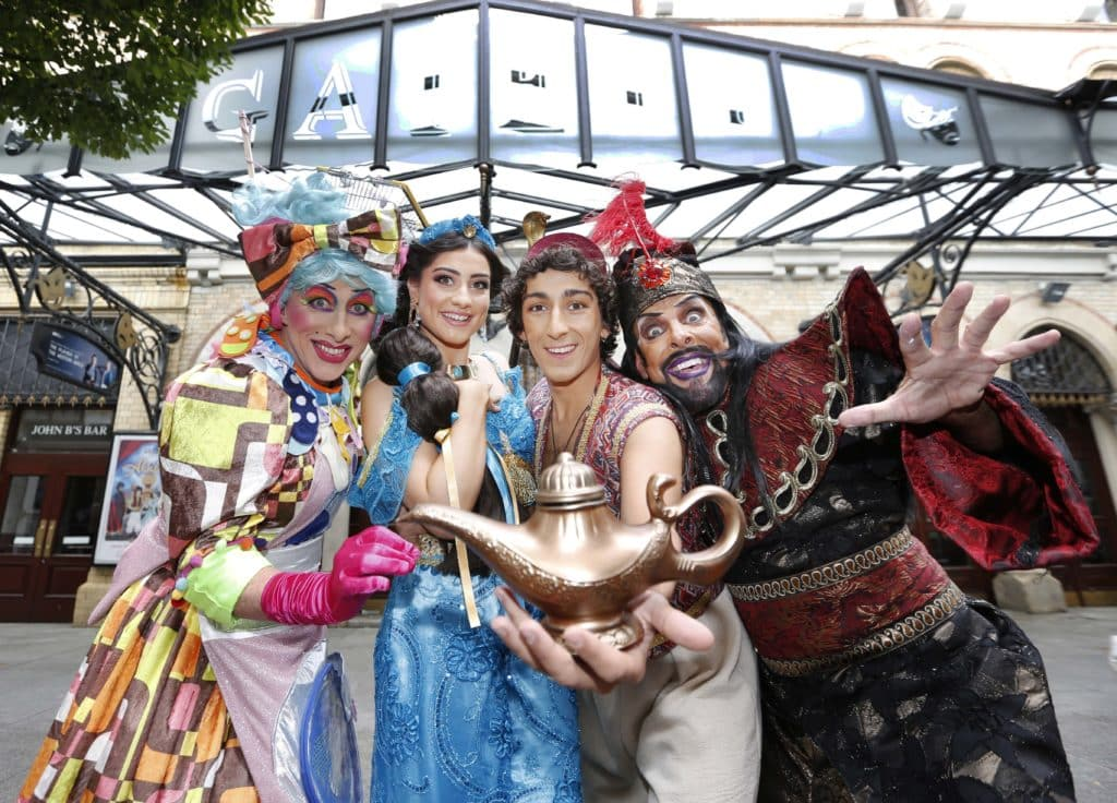 5 pantos in Ireland to see with the family this Christmas include Aladdin in Dublin