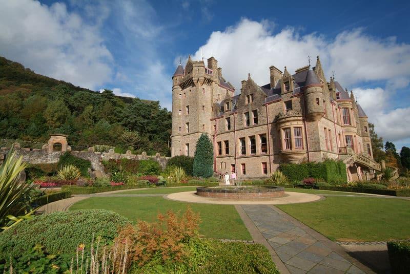 Belfast Castle is one of the best castles in Northern Ireland.
