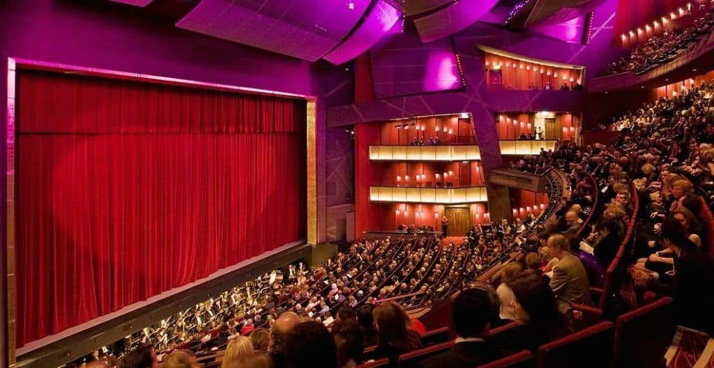 The Bord Gáis Energy Theatre is located in Dublin