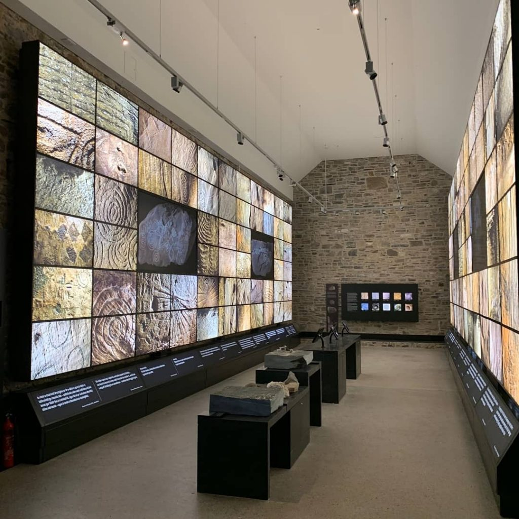The new visitor experience at the Newgrange entry point is immersive and state-of-the-art