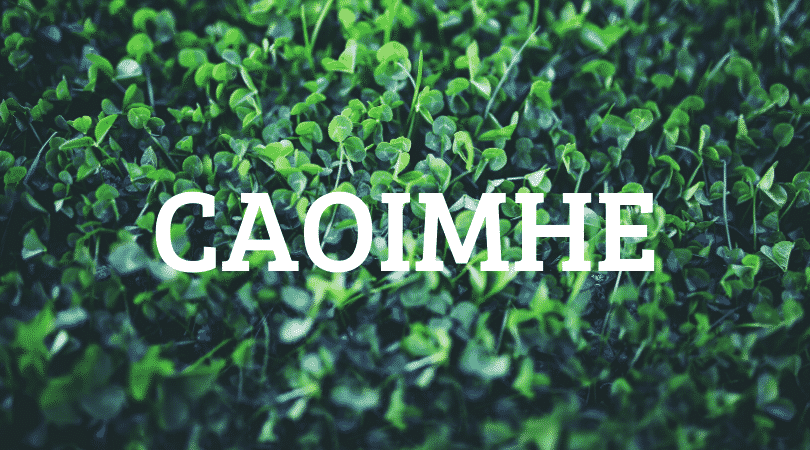 Caoimhe is one of our top picks for 10 Irish first names no one can pronounce, it's ridiculously complex.
