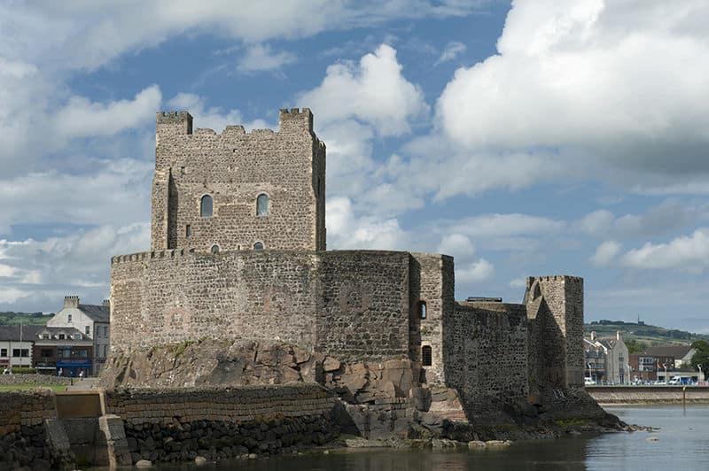 Carrickfergus Castle is one of the best castles in Northern Ireland.