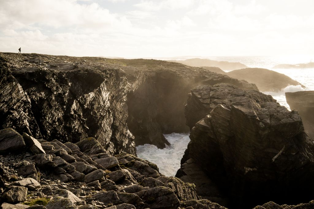 Mayos' Erris Head Loop is an unspoilt and untouched nature walk, featuring beautiful coastlines.