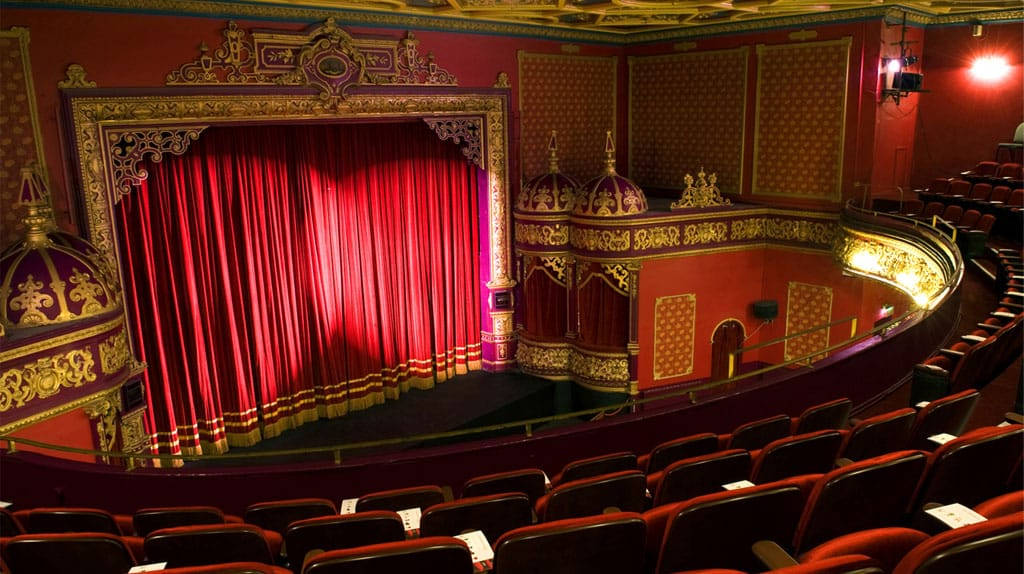 The Everyman Palace is one of the 5 most beautiful theatres in Ireland
