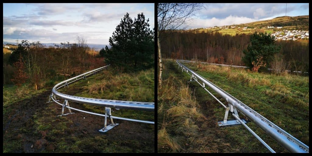 First photos of new alpine roller coaster in West Belfast revealed