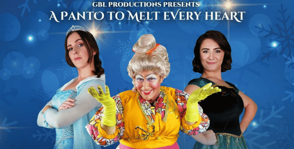 The Frozen Princess pantomime is playing in Belfast