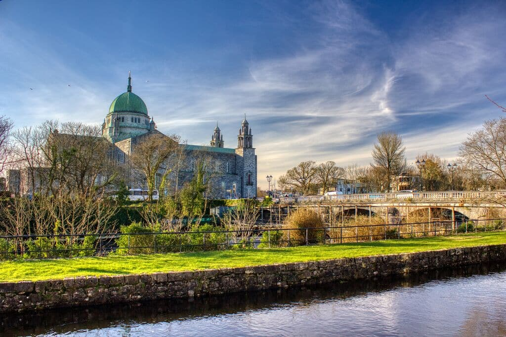 Galway City, surrounded by Irish countryside, is one of the most beautiful places in Ireland to visit.