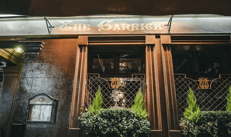 The Garrick Bar is one of the top 5 bars for live sports in Belfast