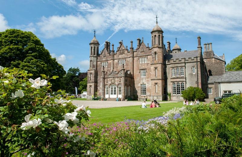 Glenarm Castle is one of the best castles in Northern Ireland.
