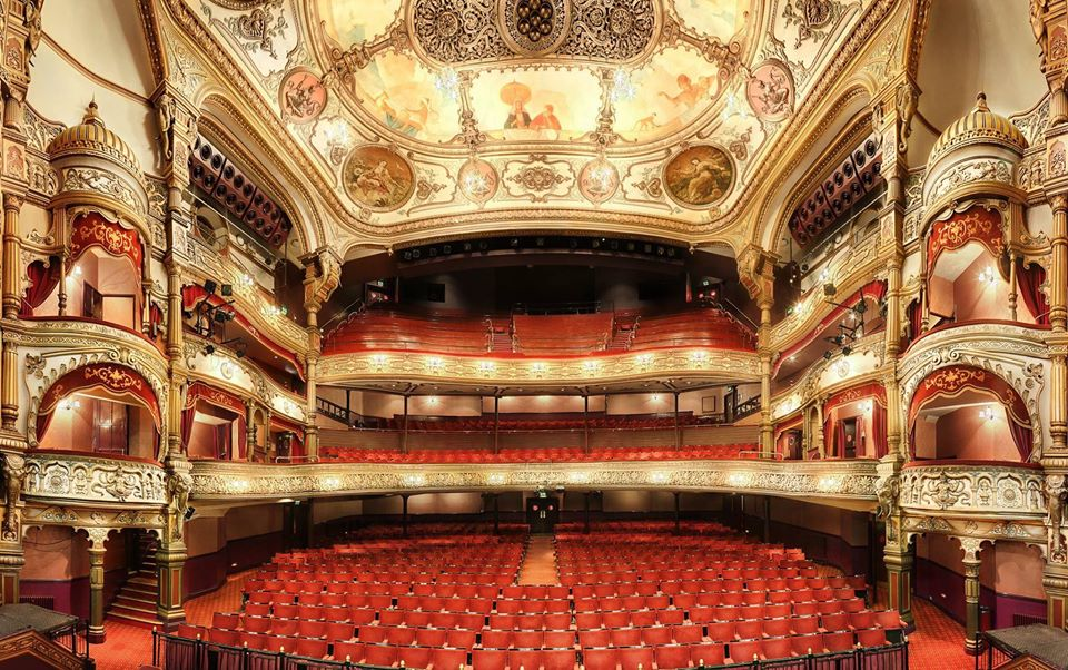 The Grand Opera House in Belfast opened in 1895